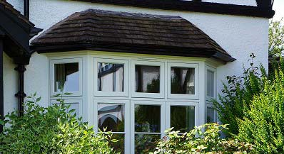timber bow bay windows cardiff swansea