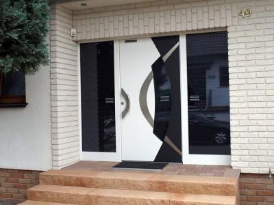 designer aluminium doors cardiff swansea