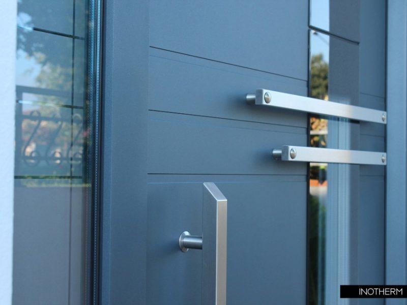 Aluminium Entrance Door Colours