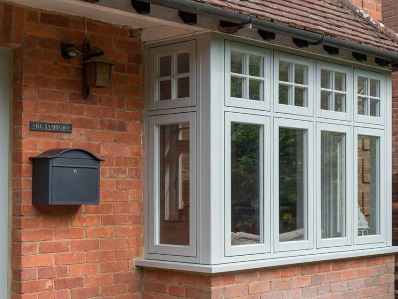 timber effect flush casement windows swansea